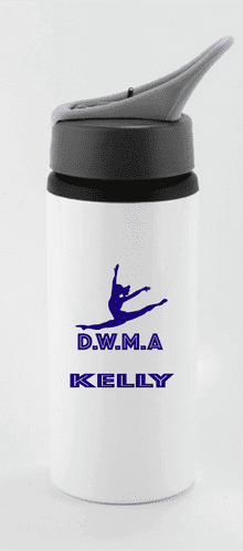 Dance with me Straw water bottle