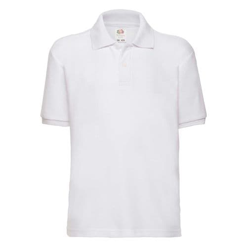 Fruit of the Loom 65/35 Polo T. Shirt