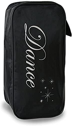 Roch valley shoe bag with silver text