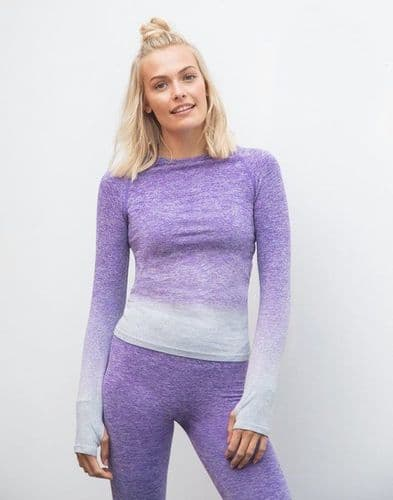 Tombo. TL304 FADE OUT LONG SLEEVE TOP