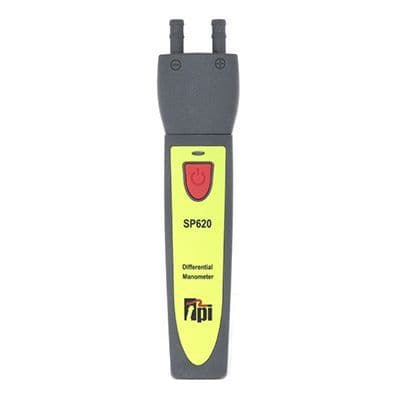 TPI Dual Input Differential Manometer with +/- 150 mBar Input Range