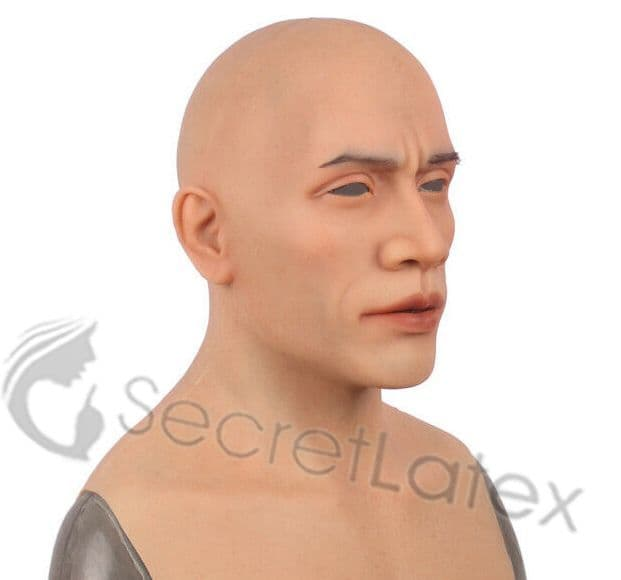 Silicone Hard Man Mask
