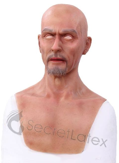 Silicone Male Mask Middle Aged