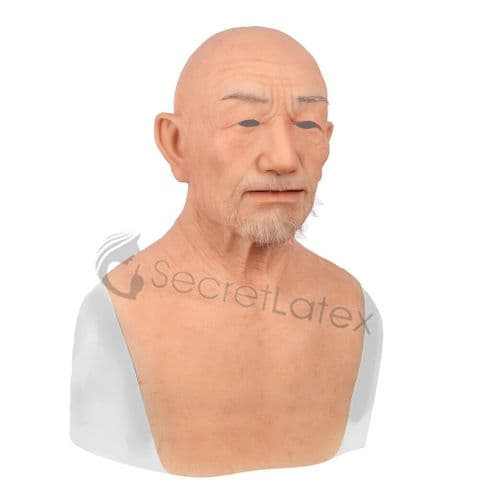 Silicone Old Man Mask