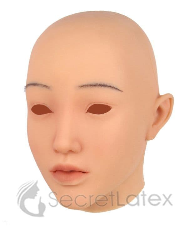 Silicone Young Female Mask