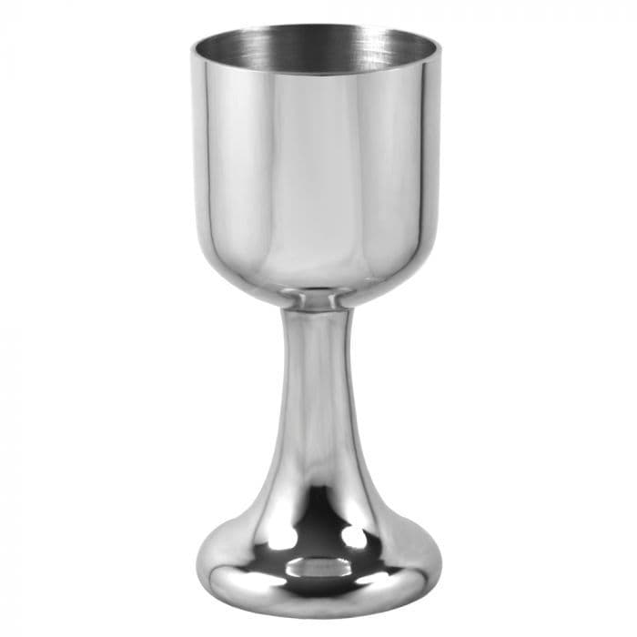 "Pewter Port Sherry Goblet Cup 4.5"" 140ml - Hand Made - Gift Trophy Prize (1)"