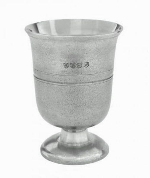 Tudor One Pint Pewter Beer Ale  Goblet  - Historic Gift -  Luxury box +  Engraving Options