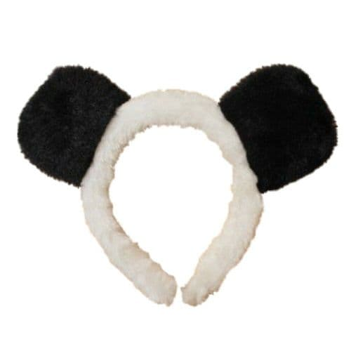 Black and White Panda Ears Alice Hair Band