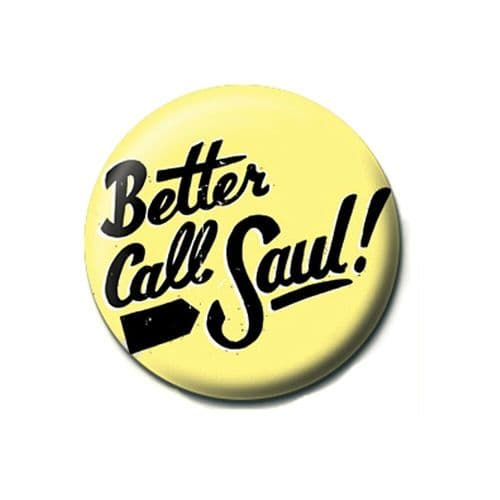 Breaking Bad Better Call Saul Button Badge