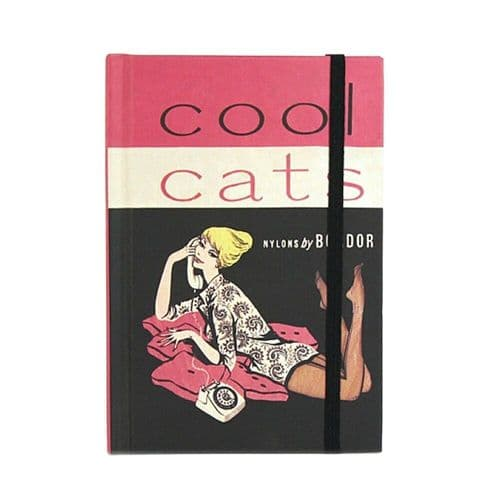 Cool Cats Small A6 Notebook Note Pad