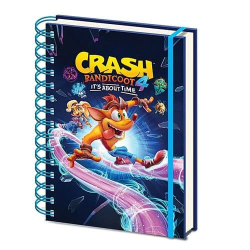 Crash Bandicoot 4 It's About Time A5 Wiro Notebook Note Pad