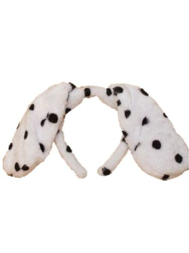 Dalmatian Spotty Dog Floppy Ears Alice Hair Band