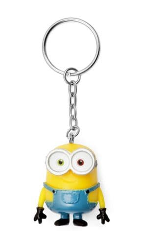 Despicable Me Minions Bob Keyring Keychain Fob - Banana Scented