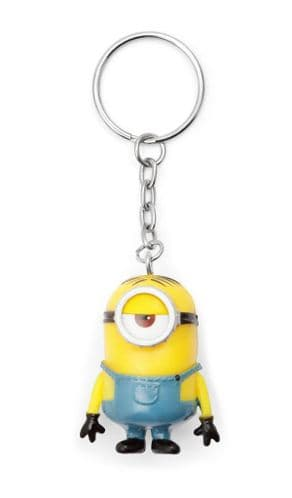 Despicable Me Minions Stuart Keyring Keychain Fob - Banana Scented