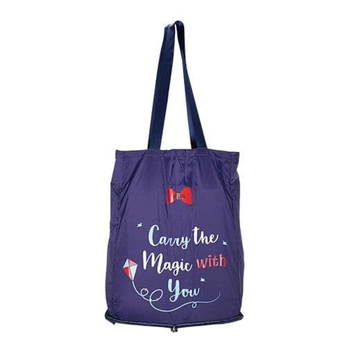 Disney Mary Poppins Magic Foldaway Shopper Tote Bag