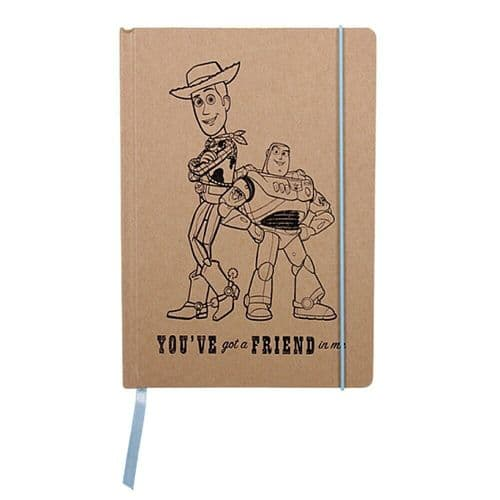 Disney Pixar Toy Story Woody And Buzz A5 Notebook Note Pad