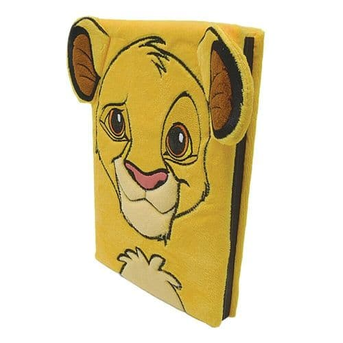 Disney The Lion King Simba Fluffy A5 Premium Notebook Note Pad