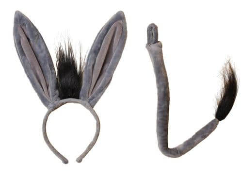 Donkey Ears Alice Hair Band and Tail Set