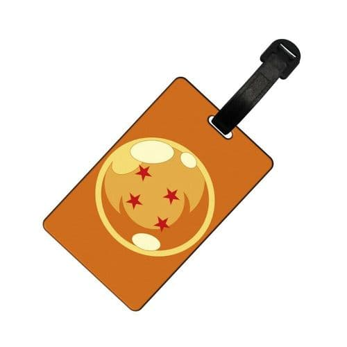 Dragon Ball Z Four Star Dragon Ball PVC Luggage Tag Label