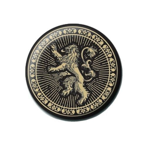 Game of Thrones Lannister House Sigil Button Badge