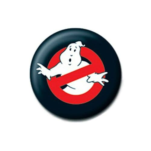 Ghostbusters Classic Symbol Logo Button Badge