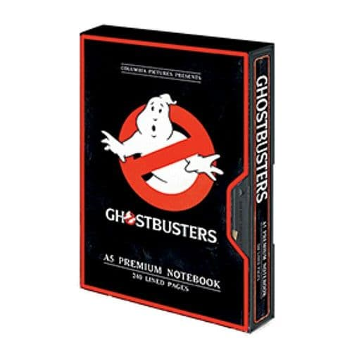 Ghostbusters Logo A5 VHS Premium Notebook Note Pad