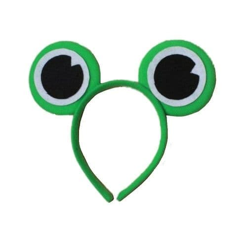 Green Frog Eyes Alice Hair Band