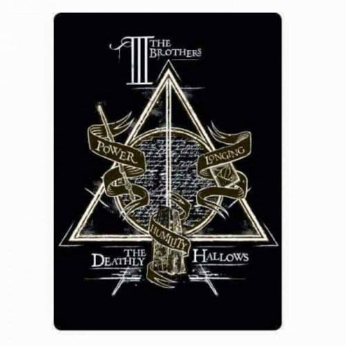 Harry Potter Deathly Hallows Fridge Magnet