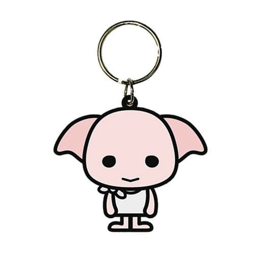 Harry Potter Dobby Elf Chibi Keyring Rubber Keychain Fob