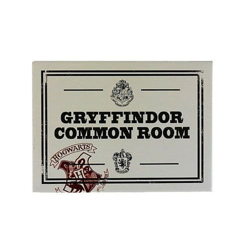 Harry Potter Gryffindor Common Room Fridge Magnet