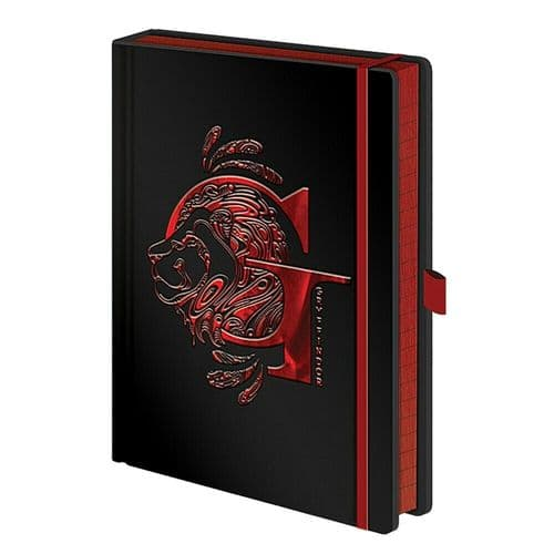 Harry Potter Gryffindor House Foil A5 Premium Notebook Note Pad