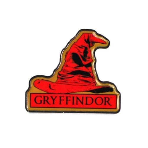 Harry Potter Gryffindor House Sorting Hat Pin Badge