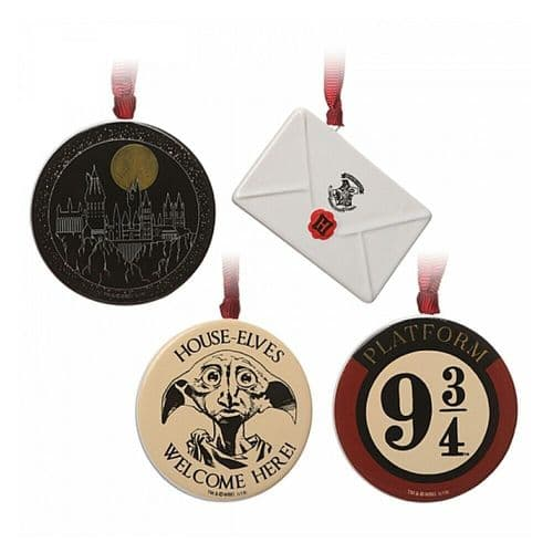 Harry Potter Hogwarts Christmas Tree Decorations