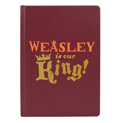 Harry Potter Weasley Is Our King A5 Notebook Note Pad