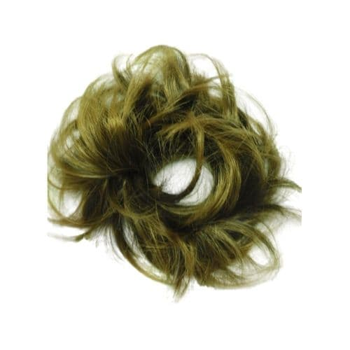 "Hot Put On Hair Piece Scrunchie 4"" Extensions Wrap"