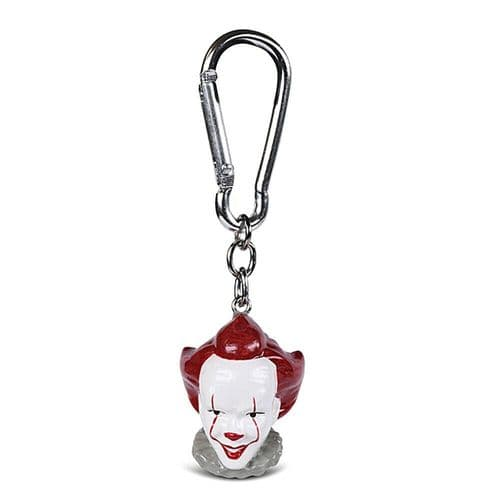 IT Pennywise The Clown Keyring 3D Polyresin Keychain Fob