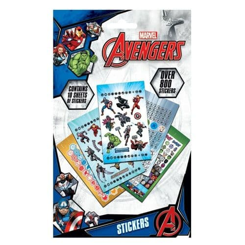 Marvel Avengers Characters 800 Stickers Set Decals