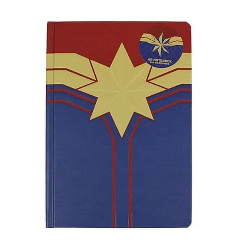 Marvel Comics Captain Marvel A5 Notebook Note Pad