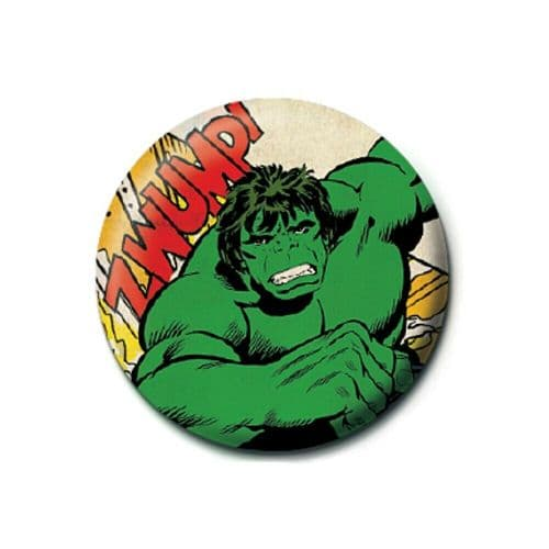 Marvel Comics The Incredible Hulk Clipping Button Badge
