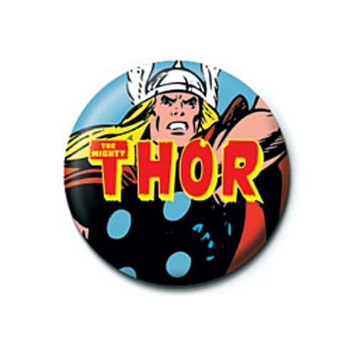 Marvel Comics The Mighty Thor Zoom Button Badge