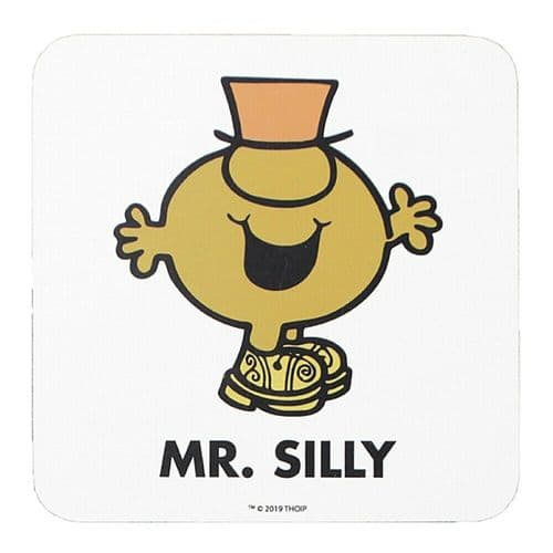 Mr Men and Little Miss Mr Silly Single Coaster Drinks Mat