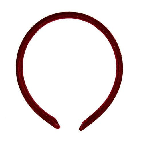Narrow  Velvet Feel Alice Hair Band