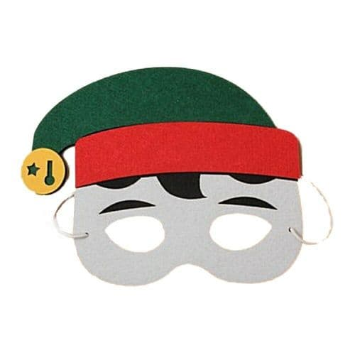 Novelty Christmas Foam Felt Face Mask
