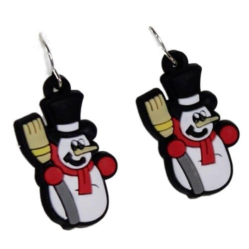Novelty Christmas Motif Drop Earrings