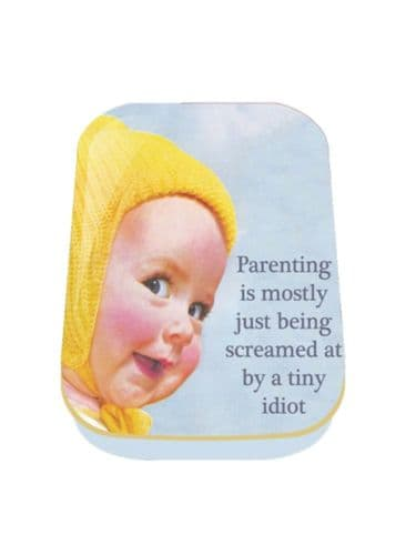 Parenting Is Mostly Mini Timeless Tin Trinket Pill Box