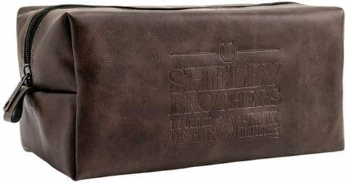 Peaky Blinders Shelby Brothers By Order Of  Toiletry Wash Bag