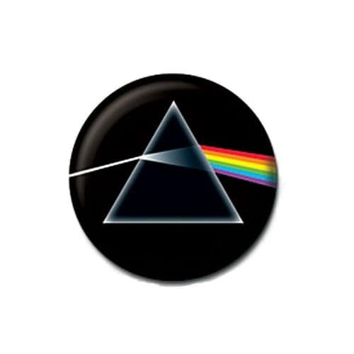 Pink Floyd Dark Side Of The Moon Button Badge
