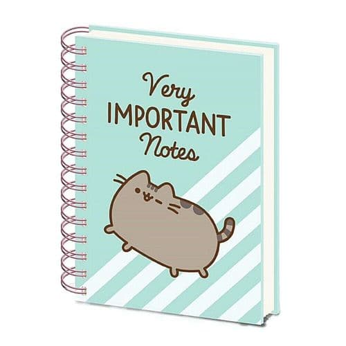 Pusheen Very Important Notes A5 Wiro Notebook Note Pad