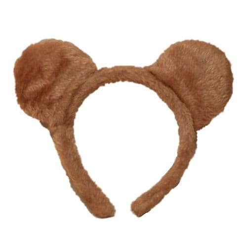 Soft Furry Teddy Bear Ears Alice Hair Band