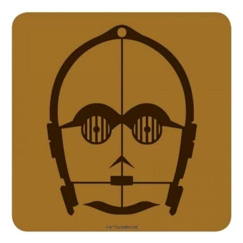 Star Wars C-3PO Single Coaster Drinks Mat